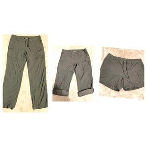 The North Face Outdoor 3 in 1 Pants crop Shorts 12